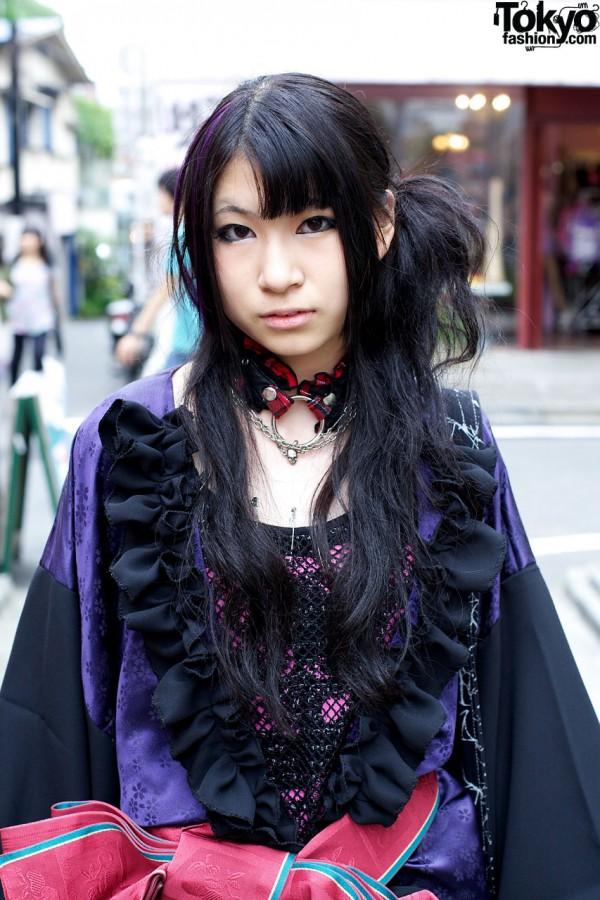 Remake Gothic Kimono Jacket