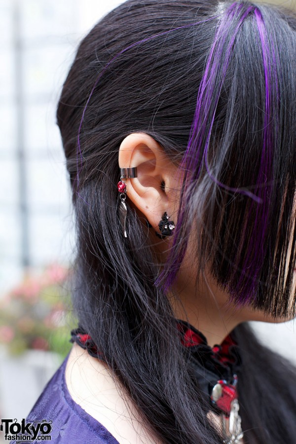 Claire's Ear Clips in Harajuku