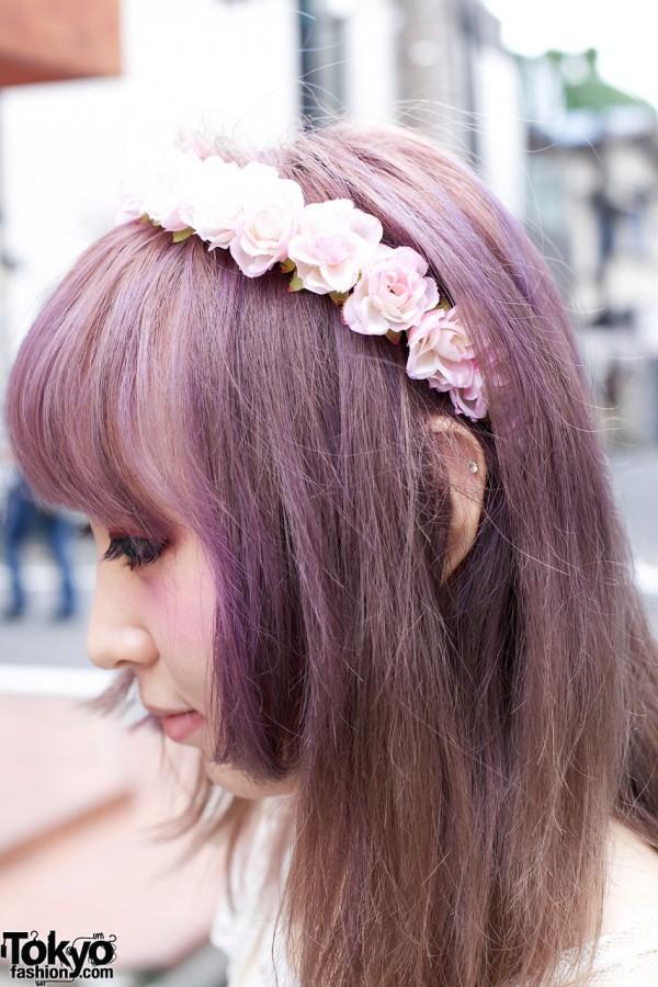 Harajuku Flower Headband