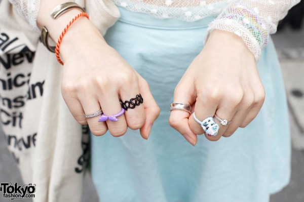Winged Ring & Other Rings