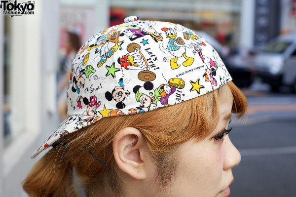 Disney cartoon cap