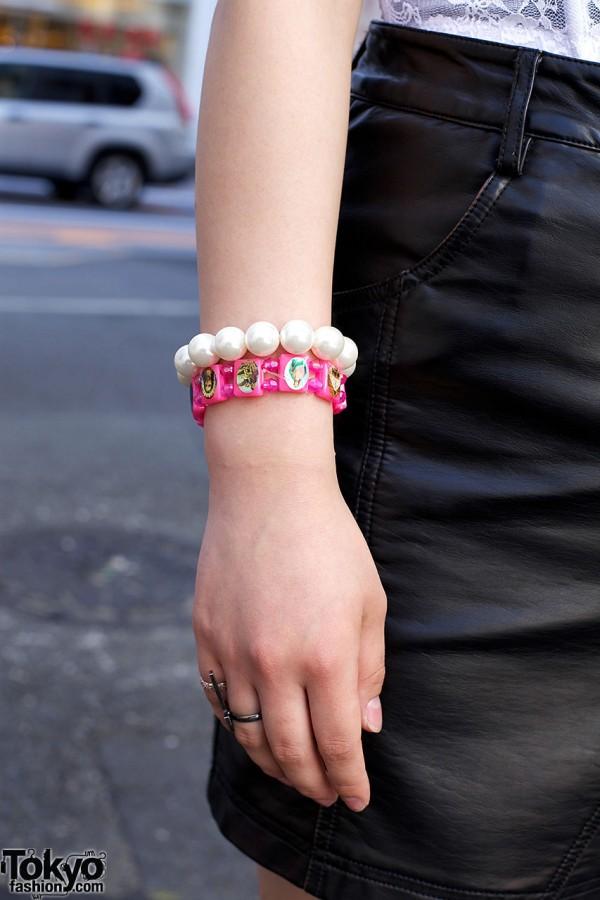Saints Bracelet in Harajuku