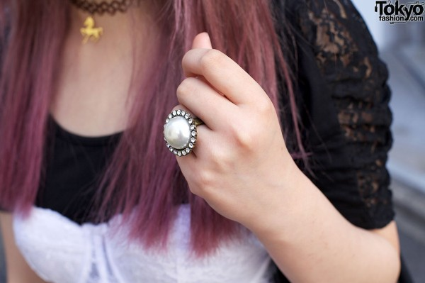 Vintage-style Ring In Harajuku