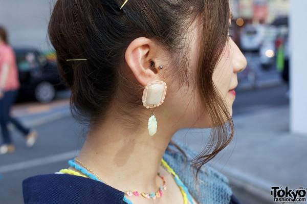 Vintage Earring in Harajuku