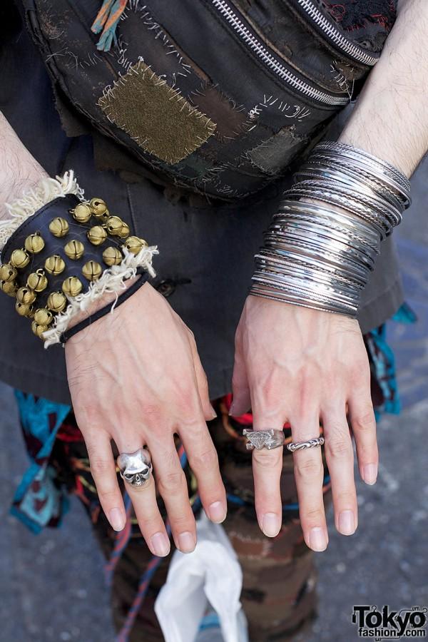 Bangles, bells & silver rings