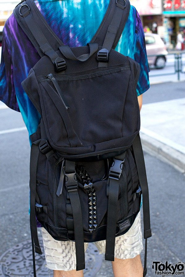Studded Memento Backpack in Harajuku
