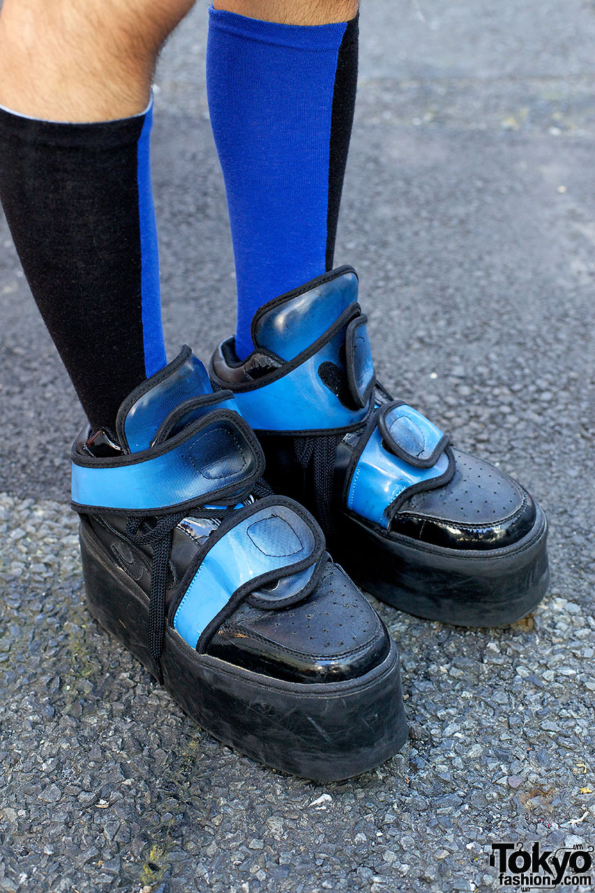 Dog Harajuku Platform Sneakers Memento Backpack Amp Spikes