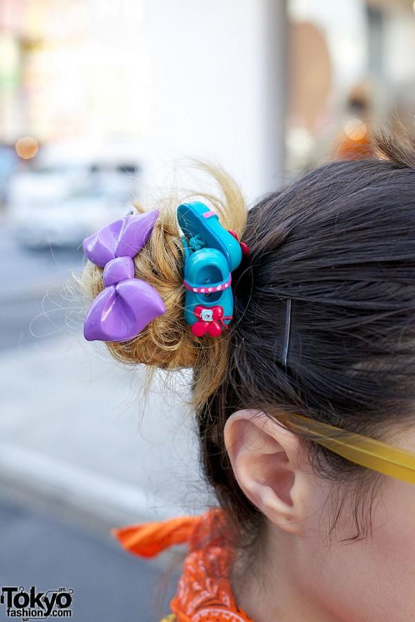 Hair Bow Clip in Harajuku