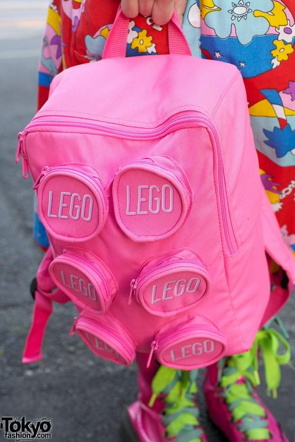 Pink LEGO Backpack