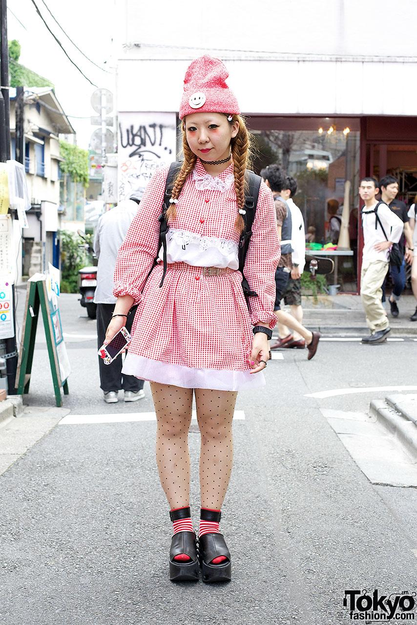 Himitsu Kessya Top & Skirt in Harajuku