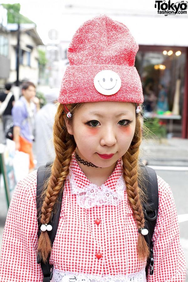 Braids & Cute Makeup in Harajuku