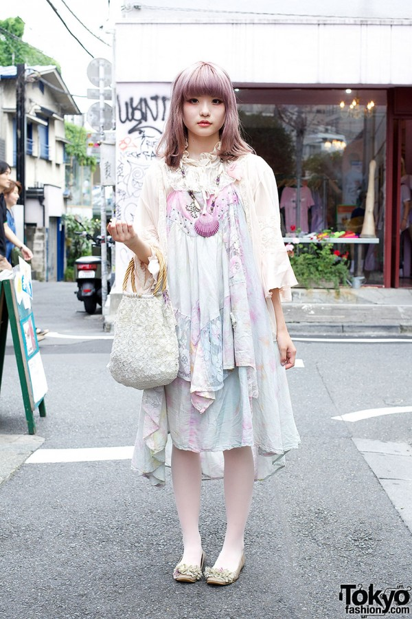 Vintage Cult Party Kei Fashion in Harajuku