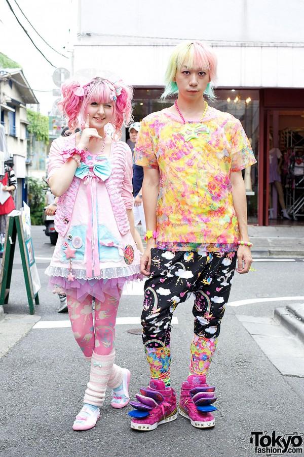 Yukapon & Junnyan in Harajuku