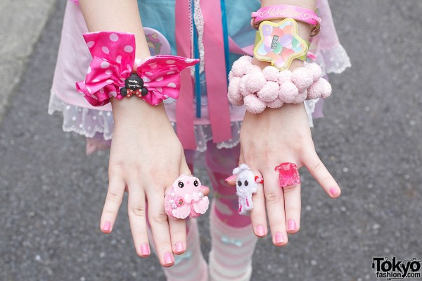 Cute Fairy Kei Accessories in Harajuku
