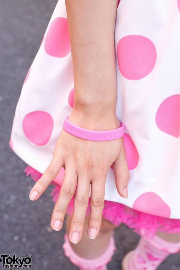 Remember 03/11 Earthquake Bracelet