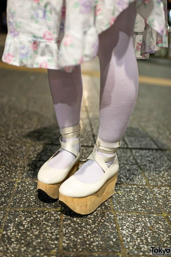 Vintage Dress & Rocking Horse Shoes