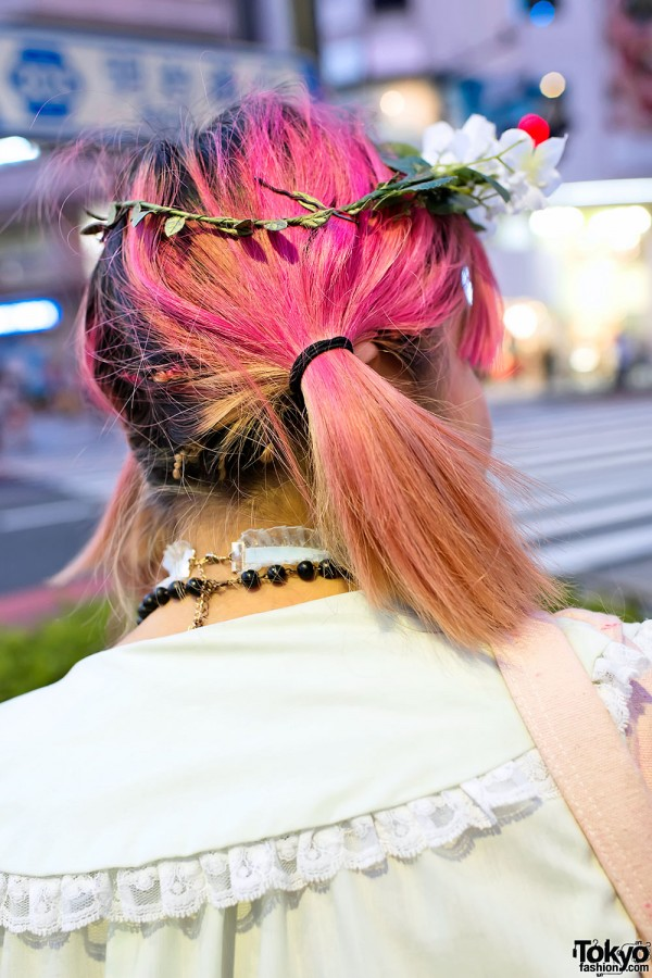 Pink Hair in Harajuku