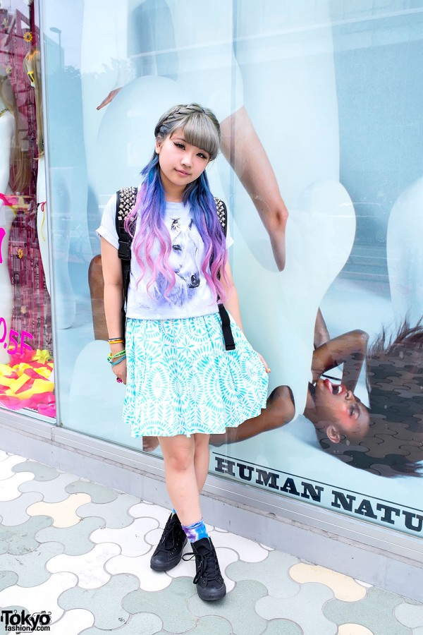 Aspiring High School Singer You in Harajuku