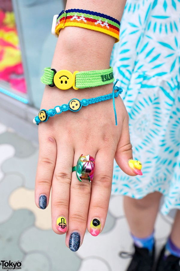 Japanese Nail Art, Rings & Bracelets