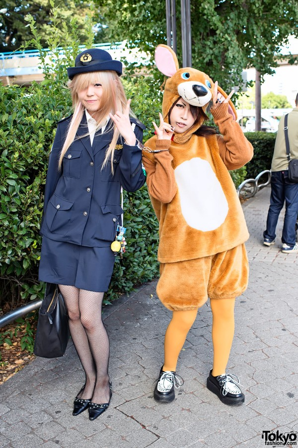 An Cafe Fan Fashion in Harajuku (6)