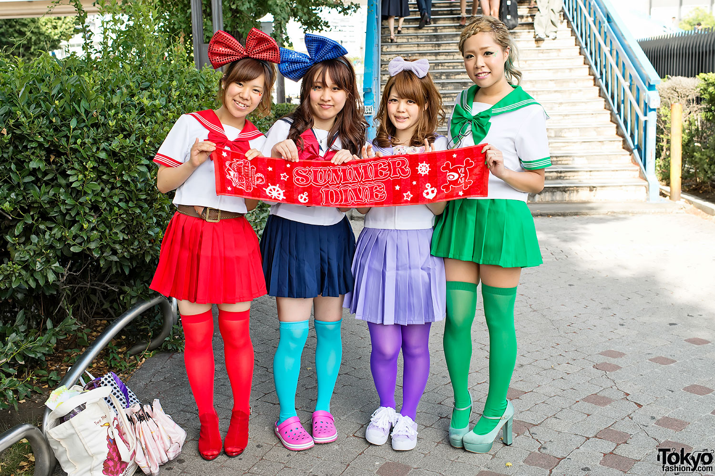 An Fashion In Harajuku Summer Snaps Cafe Ancafesta'12 Dive Fan OZTkXPiu