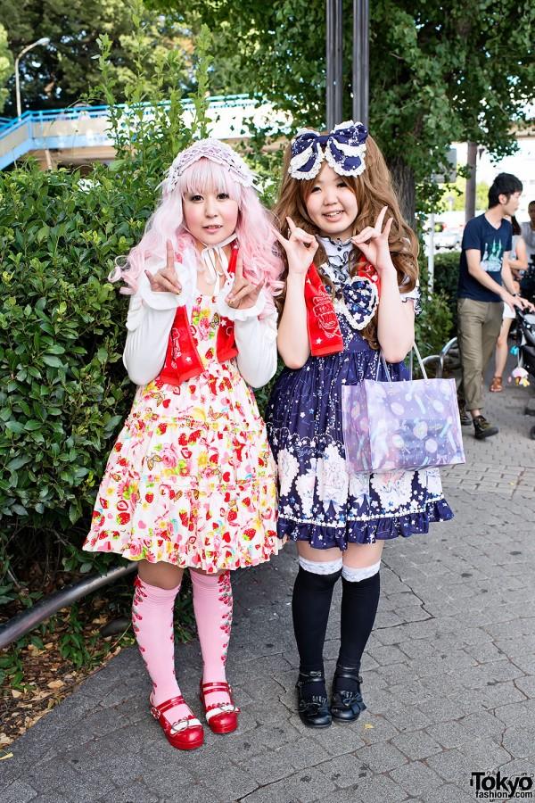 An Cafe Ancafesta'12 Summer Dive Fan Fashion Snaps in Harajuku
