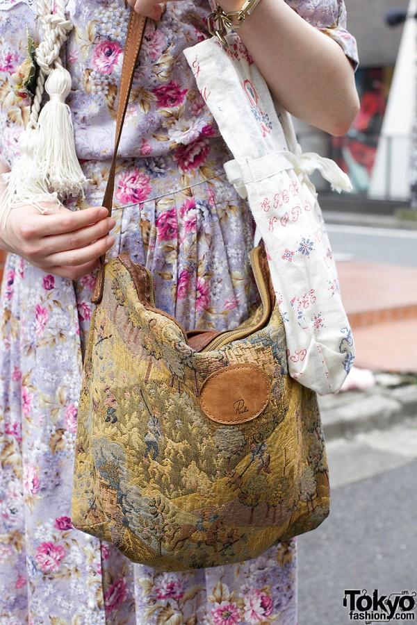 Grimoire tapestry bag