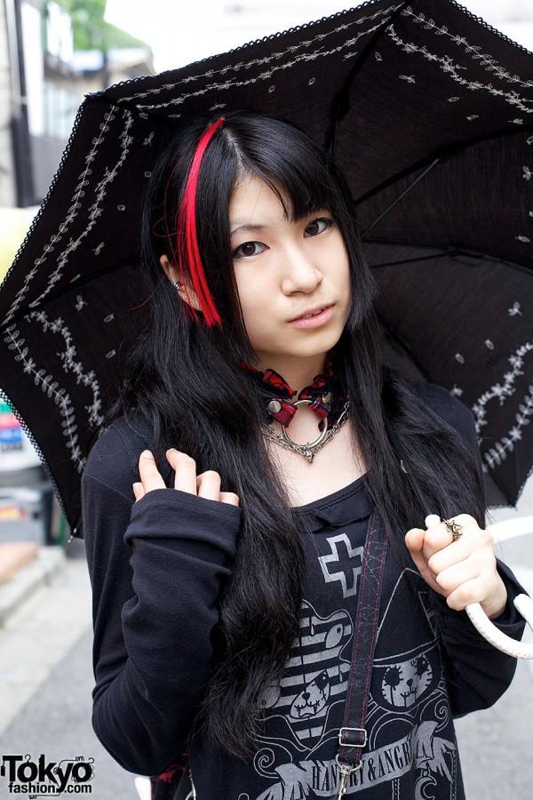 Girls w/ parasol & h.Naoto choker