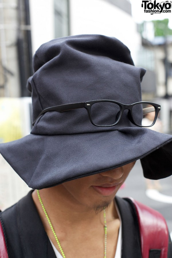 Hat With Glasses
