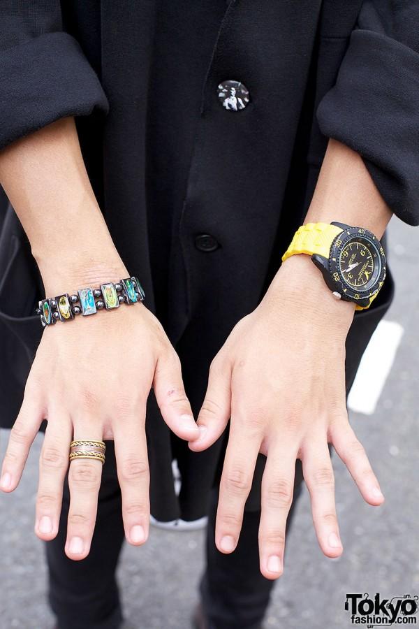 Wristwatch & Bracelets in Harajuku