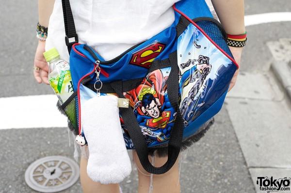 Superman Bag in Harajuku