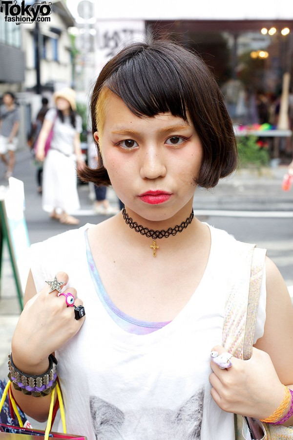 Yuna's Tattoo Necklace in Harajuku