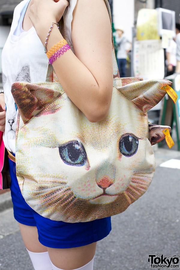 Ahcahcum Muchacha Cat Bag