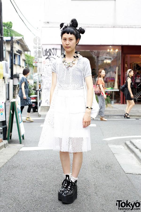 Yama from Tokyo Bopper in Net Dress