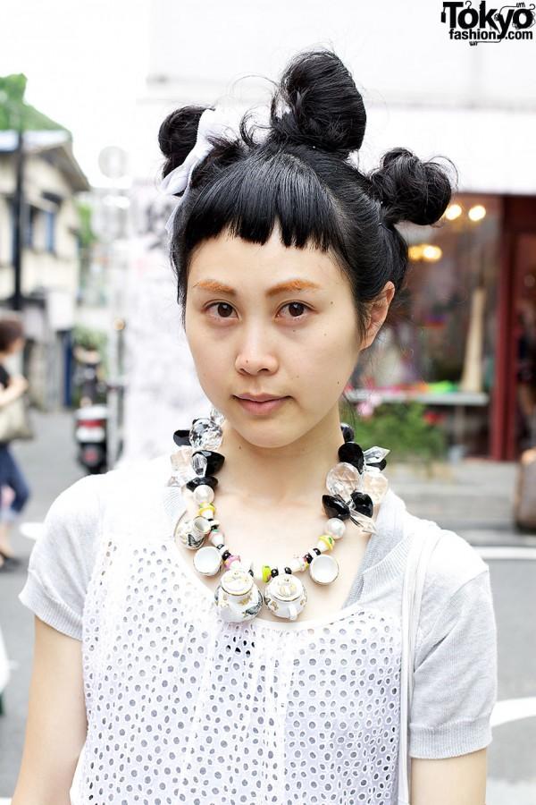Net Dress in Harajuku