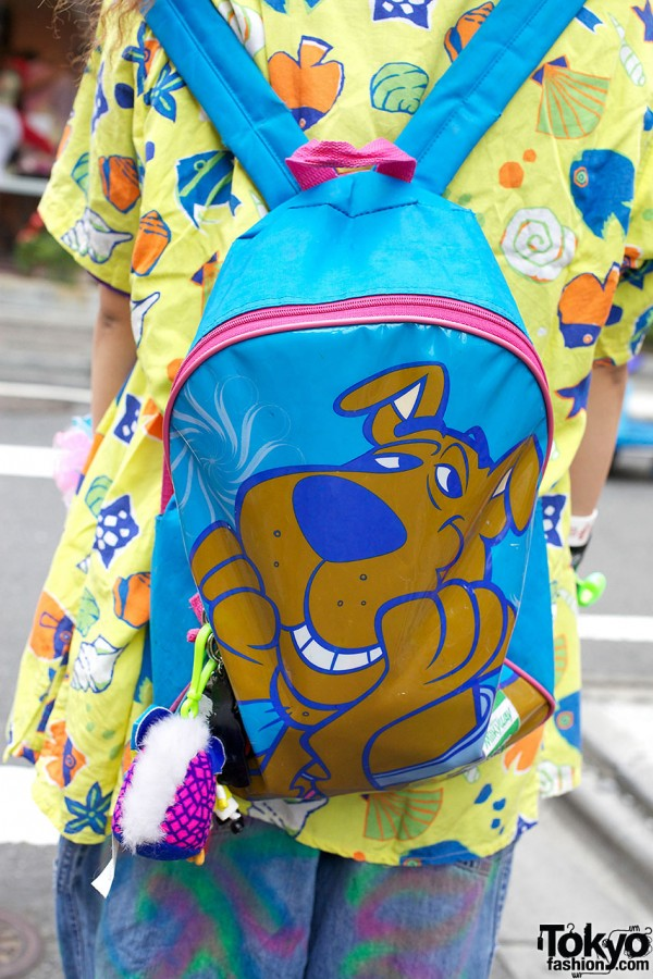 Scooby Doo Backpack in Harajuku
