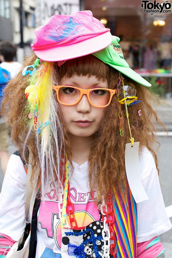Decora Hair Accessories in Harajuku