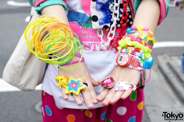 Decora Rings & Bracelets in Harajuku