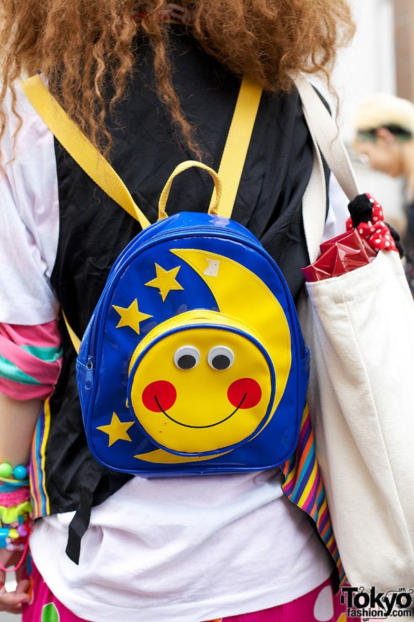 Smiling Moon Backpack