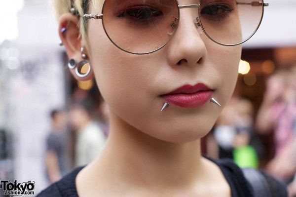 Harajuku Facial Piercings