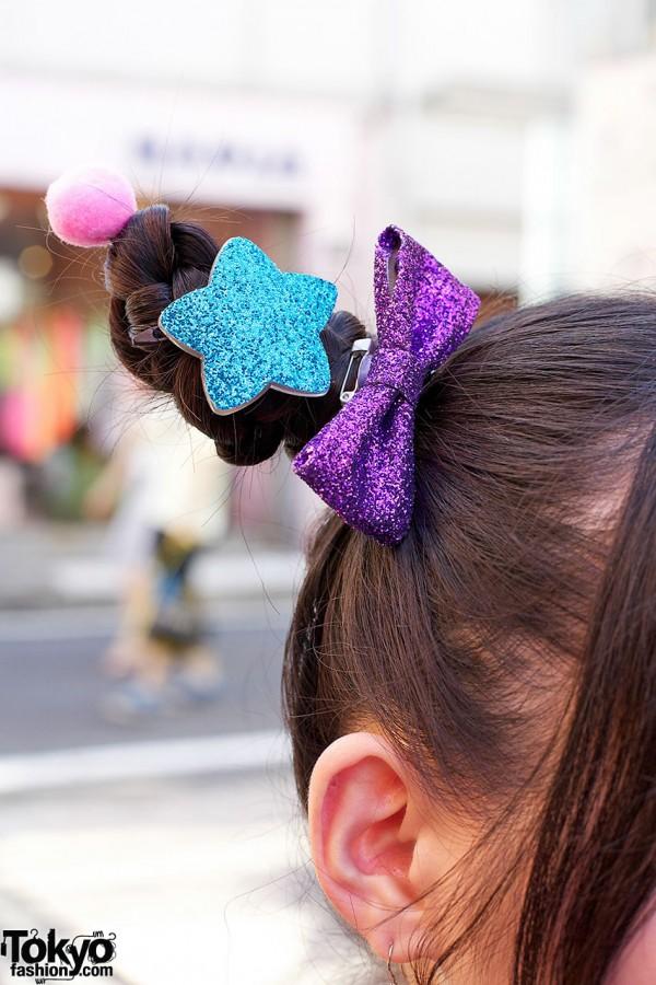 6%DOKIDOKI Sparkling Star Hair Clip