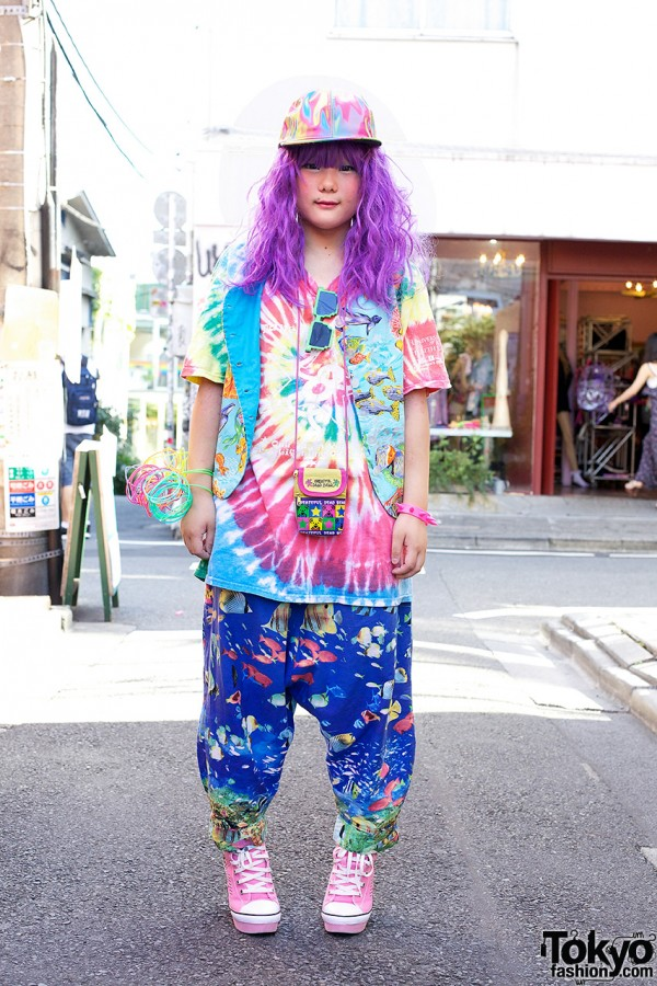 Gero's Decora Fashion in Harajuku