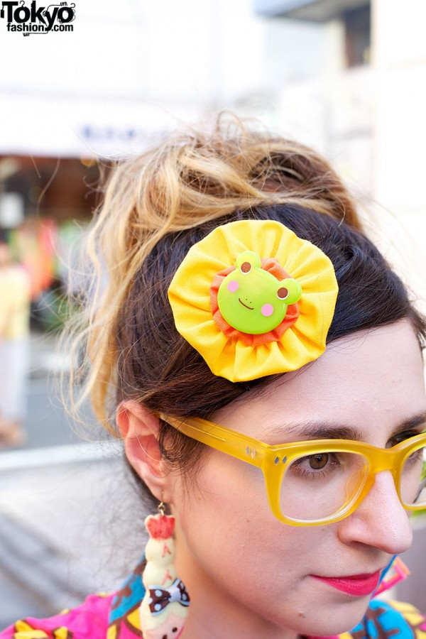 Party Baby Frog Hair Clip