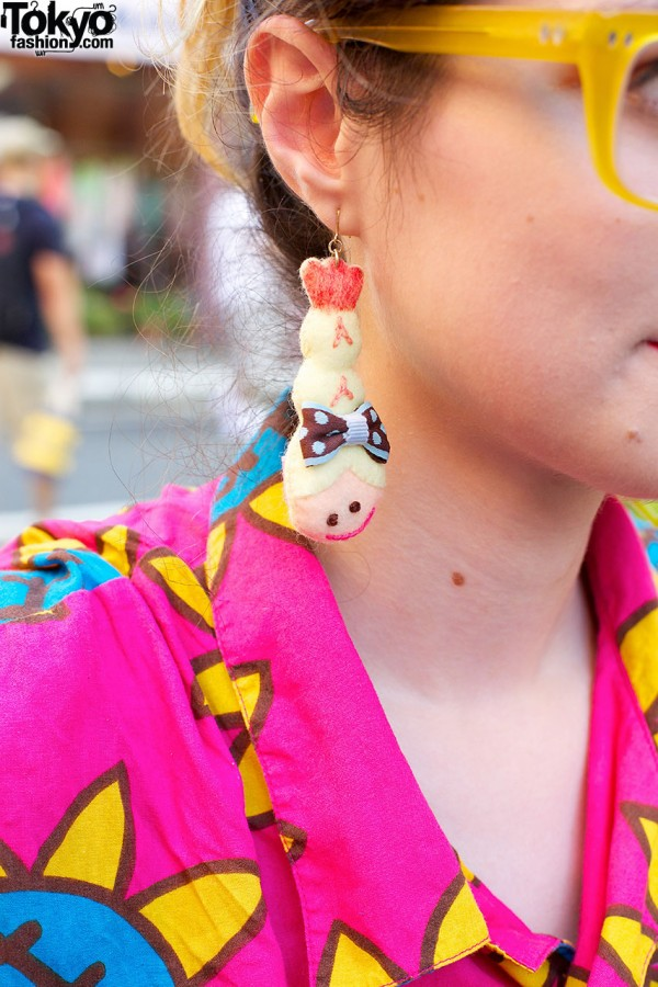 Party Baby Shrimp Earring