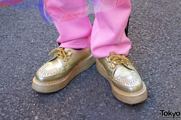 Gold George Cox Creepers