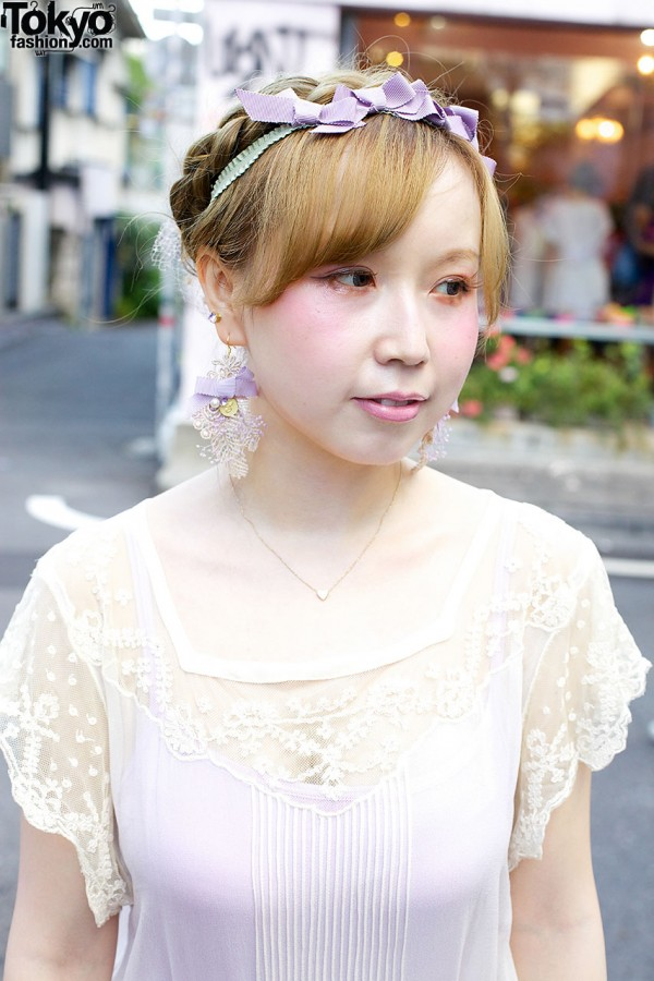 Lace nesessaire Top in Harajuku