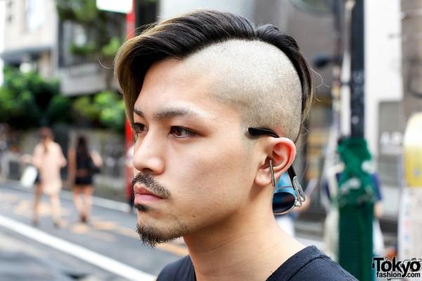 Punk rock girls shaved heads