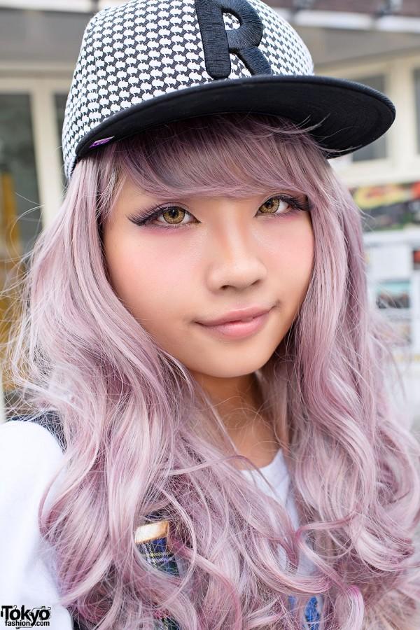 White Lavender X Pink Ash Hair Color Tokyo Fashion News