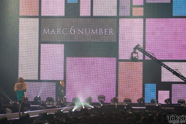 MARC 6 NUMBER at Tokyo Girls Collection