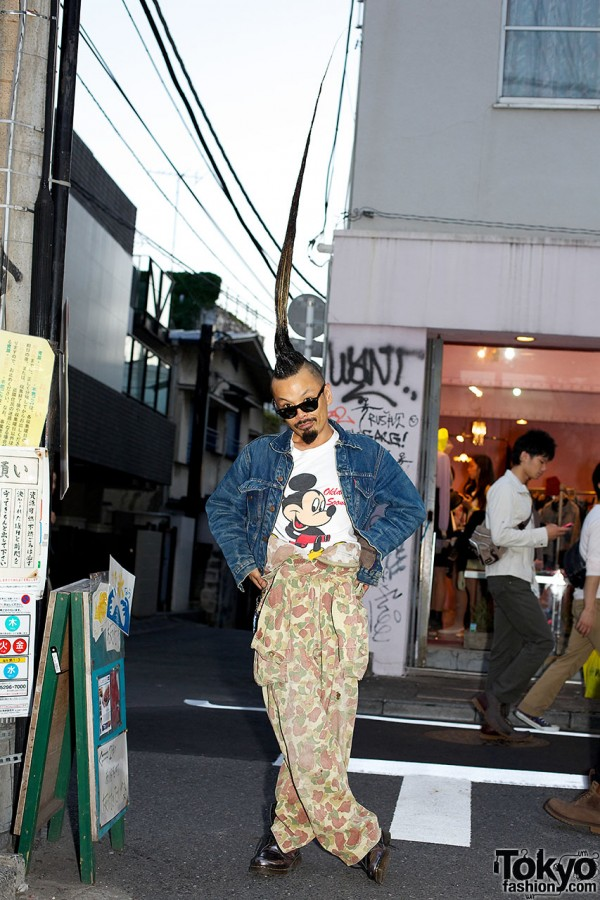 AvantGarde Harajuku Director w/ World's Tallest Mohawk